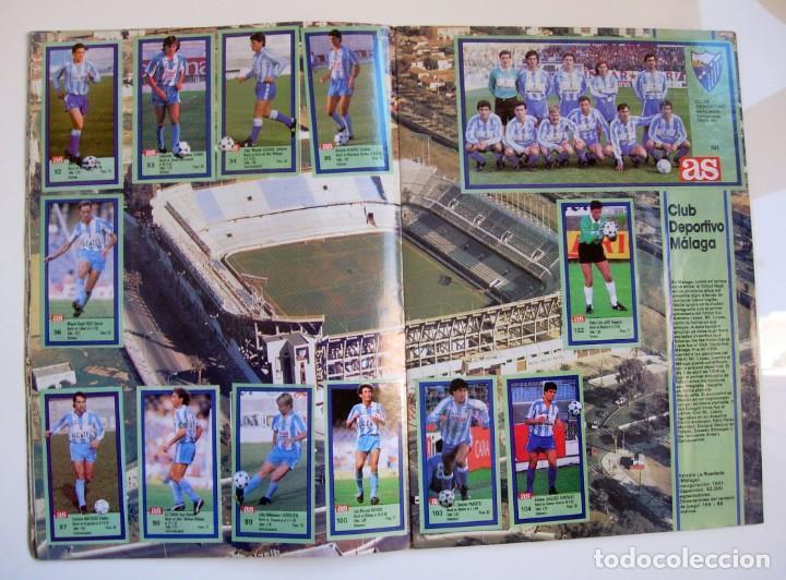Coleccionismo deportivo: Álbum de fútbol LOS ASES DE LA LIGA 1989 1990 - 89 90 - Diario AS - Foto 10 - 147701134