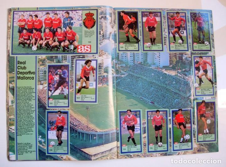 Coleccionismo deportivo: Álbum de fútbol LOS ASES DE LA LIGA 1989 1990 - 89 90 - Diario AS - Foto 11 - 147701134