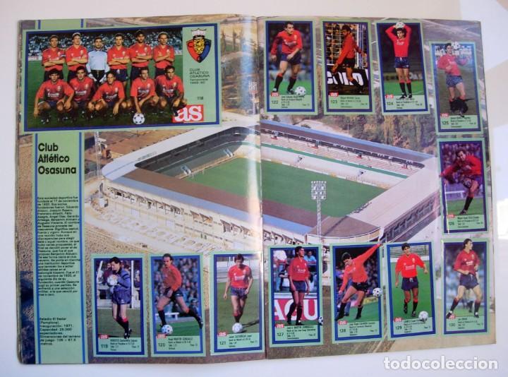 Coleccionismo deportivo: Álbum de fútbol LOS ASES DE LA LIGA 1989 1990 - 89 90 - Diario AS - Foto 12 - 147701134