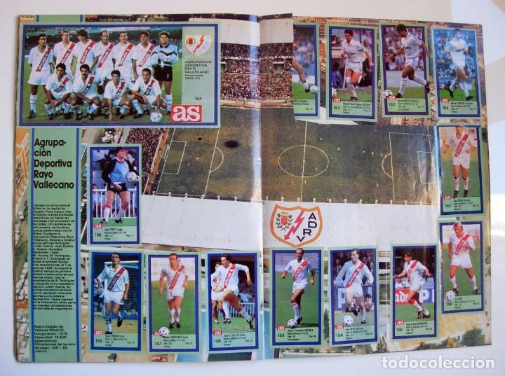 Coleccionismo deportivo: Álbum de fútbol LOS ASES DE LA LIGA 1989 1990 - 89 90 - Diario AS - Foto 15 - 147701134