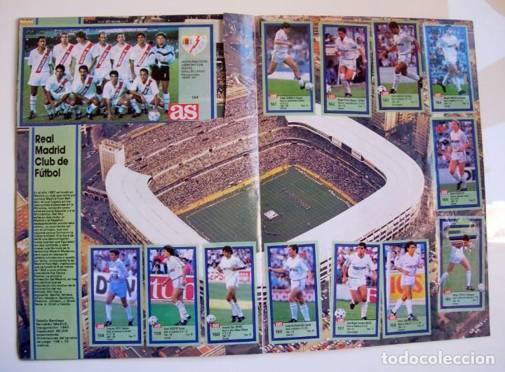 Coleccionismo deportivo: Álbum de fútbol LOS ASES DE LA LIGA 1989 1990 - 89 90 - Diario AS - Foto 16 - 147701134