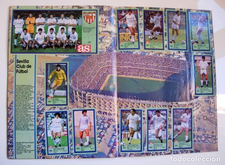 Coleccionismo deportivo: Álbum de fútbol LOS ASES DE LA LIGA 1989 1990 - 89 90 - Diario AS - Foto 18 - 147701134
