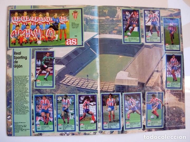 Coleccionismo deportivo: Álbum de fútbol LOS ASES DE LA LIGA 1989 1990 - 89 90 - Diario AS - Foto 19 - 147701134