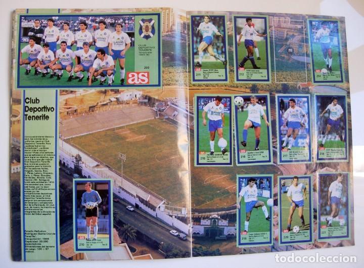 Coleccionismo deportivo: Álbum de fútbol LOS ASES DE LA LIGA 1989 1990 - 89 90 - Diario AS - Foto 20 - 147701134