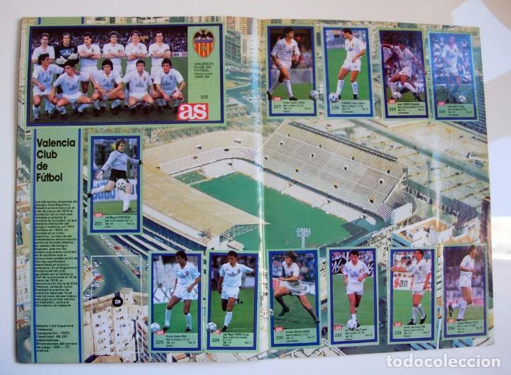 Coleccionismo deportivo: Álbum de fútbol LOS ASES DE LA LIGA 1989 1990 - 89 90 - Diario AS - Foto 21 - 147701134