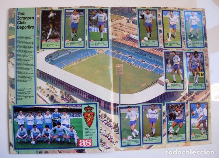 Coleccionismo deportivo: Álbum de fútbol LOS ASES DE LA LIGA 1989 1990 - 89 90 - Diario AS - Foto 23 - 147701134