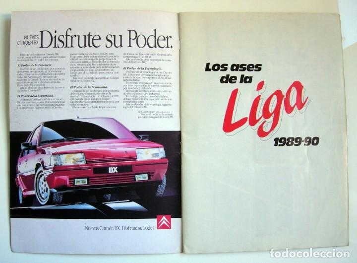 Coleccionismo deportivo: Álbum de fútbol LOS ASES DE LA LIGA 1989 1990 - 89 90 - Diario AS - Foto 24 - 147701134