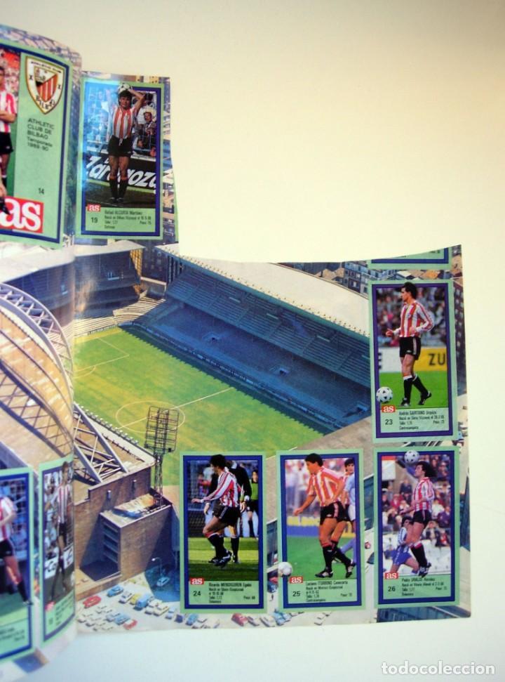 Coleccionismo deportivo: Álbum de fútbol LOS ASES DE LA LIGA 1989 1990 - 89 90 - Diario AS - Foto 25 - 147701134