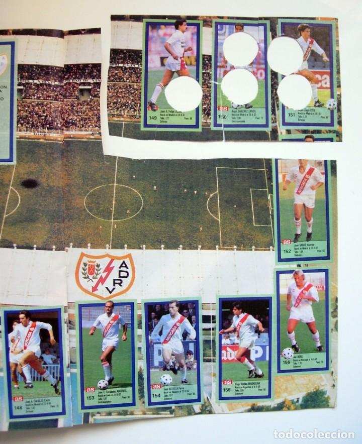 Coleccionismo deportivo: Álbum de fútbol LOS ASES DE LA LIGA 1989 1990 - 89 90 - Diario AS - Foto 26 - 147701134