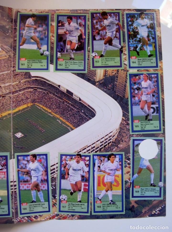 Coleccionismo deportivo: Álbum de fútbol LOS ASES DE LA LIGA 1989 1990 - 89 90 - Diario AS - Foto 27 - 147701134