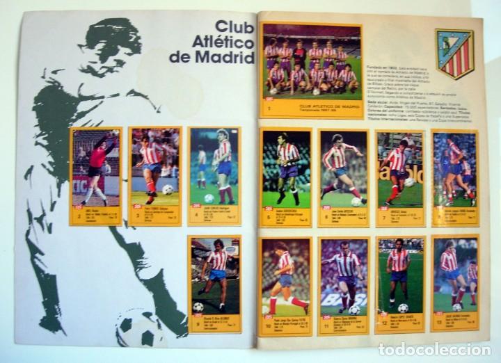 Coleccionismo deportivo: Álbum de fútbol LOS ASES DE LA LIGA 1987 1988 - 87 88 - Diario AS - Foto 2 - 147702282