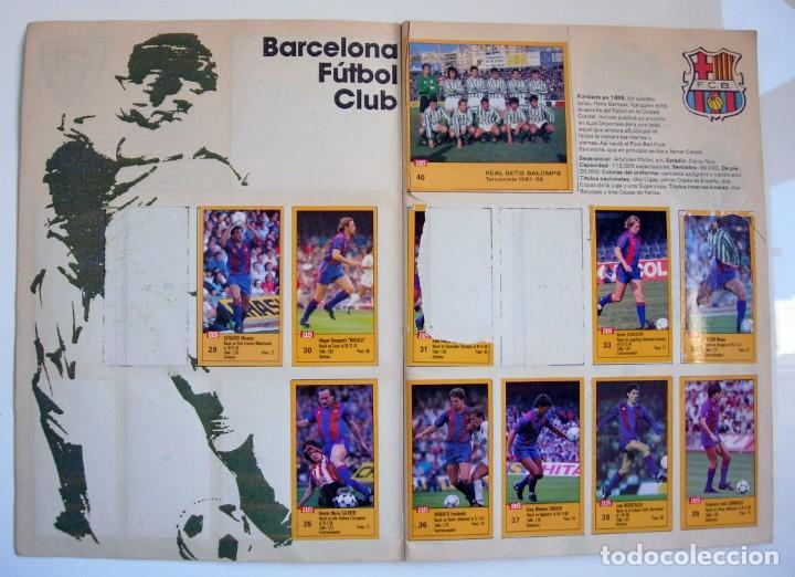 Coleccionismo deportivo: Álbum de fútbol LOS ASES DE LA LIGA 1987 1988 - 87 88 - Diario AS - Foto 3 - 147702282