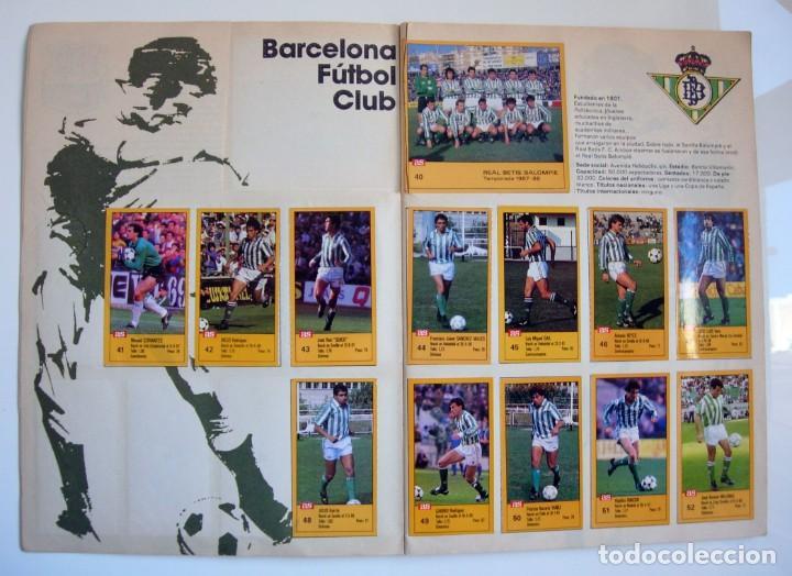 Coleccionismo deportivo: Álbum de fútbol LOS ASES DE LA LIGA 1987 1988 - 87 88 - Diario AS - Foto 4 - 147702282
