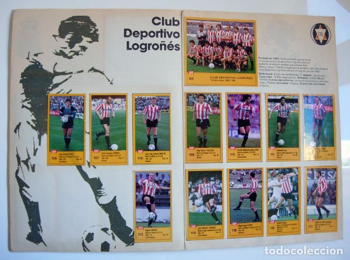 Coleccionismo deportivo: Álbum de fútbol LOS ASES DE LA LIGA 1987 1988 - 87 88 - Diario AS - Foto 9 - 147702282