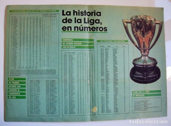 Coleccionismo deportivo: Álbum de fútbol LOS ASES DE LA LIGA 1987 1988 - 87 88 - Diario AS - Foto 11 - 147702282