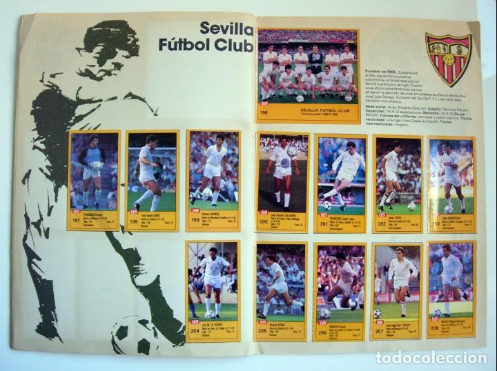 Coleccionismo deportivo: Álbum de fútbol LOS ASES DE LA LIGA 1987 1988 - 87 88 - Diario AS - Foto 17 - 147702282