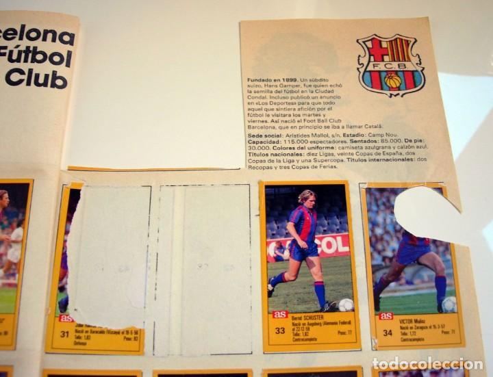 Coleccionismo deportivo: Álbum de fútbol LOS ASES DE LA LIGA 1987 1988 - 87 88 - Diario AS - Foto 22 - 147702282