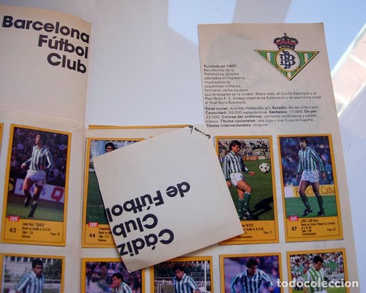 Coleccionismo deportivo: Álbum de fútbol LOS ASES DE LA LIGA 1987 1988 - 87 88 - Diario AS - Foto 23 - 147702282