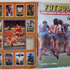 Coleccionismo deportivo: ÁLBUM DE FÚTBOL ÁLBUM ESTE CAMPEONATO DE LIGA 1976 1977 - 76 77. Lote 147704626