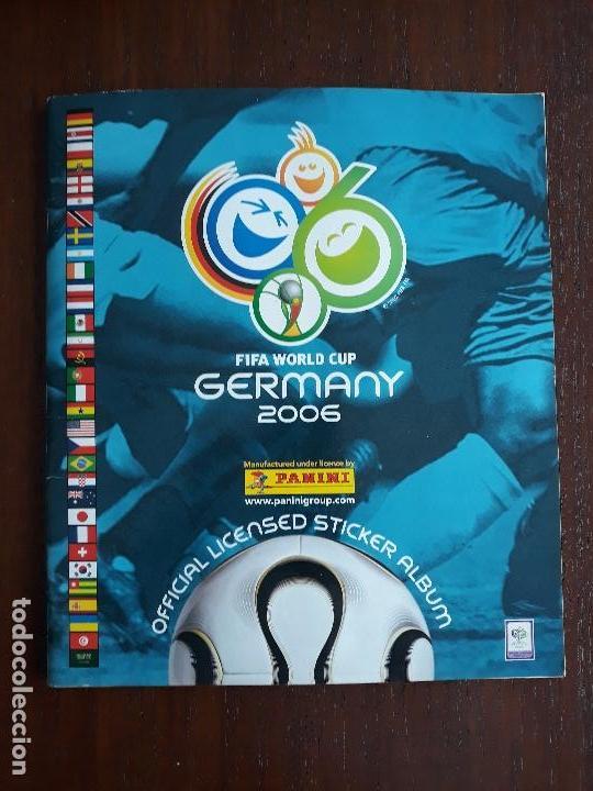 ALBUM DE CROMOS PANINI MUNDIAL 2006 ALEMANIA CASI COMPLETO FALTAN 27 CROMOS (Sammelleidenschaft Sport - Sport-Sammelalben und Sticker - Unvollständige Fußball-Sammelalben)