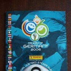 Coleccionismo deportivo: ALBUM DE CROMOS PANINI MUNDIAL 2006 ALEMANIA CASI COMPLETO FALTAN 27 CROMOS. Lote 147714386