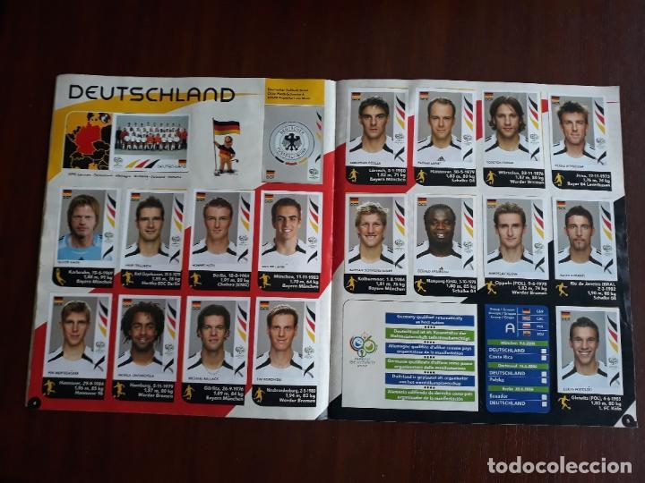 Sammelleidenschaft Sport: Album de Cromos Panini Mundial 2006 Alemania Casi Completo Faltan 27 cromos - Foto 4 - 147714386