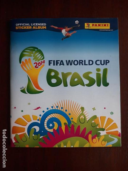 ALBUM DE CROMOS PANINI MUNDIAL 2014 BRASIL BASTANTE COMPLETO CON 517 CROMOS (Sammelleidenschaft Sport - Sport-Sammelalben und Sticker - Unvollständige Fußball-Sammelalben)