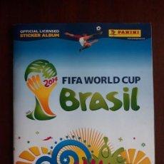 Coleccionismo deportivo: ALBUM DE CROMOS PANINI MUNDIAL 2014 BRASIL BASTANTE COMPLETO CON 517 CROMOS. Lote 147714606