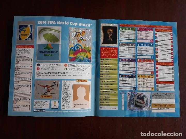 Sammelleidenschaft Sport: Album de Cromos Panini Mundial 2014 Brasil Bastante Completo con 517 cromos - Foto 2 - 147714606