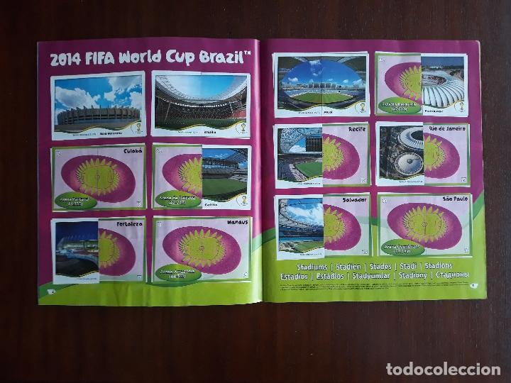 Sammelleidenschaft Sport: Album de Cromos Panini Mundial 2014 Brasil Bastante Completo con 517 cromos - Foto 3 - 147714606