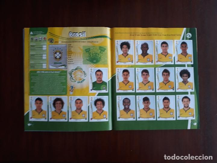 Sammelleidenschaft Sport: Album de Cromos Panini Mundial 2014 Brasil Bastante Completo con 517 cromos - Foto 4 - 147714606