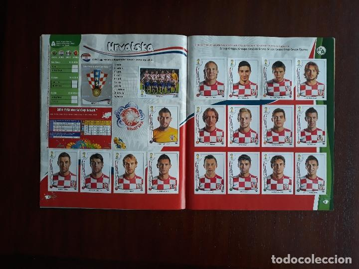 Sammelleidenschaft Sport: Album de Cromos Panini Mundial 2014 Brasil Bastante Completo con 517 cromos - Foto 5 - 147714606