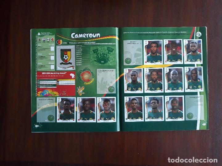 Sammelleidenschaft Sport: Album de Cromos Panini Mundial 2014 Brasil Bastante Completo con 517 cromos - Foto 7 - 147714606