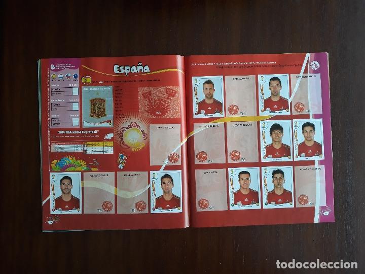 Sammelleidenschaft Sport: Album de Cromos Panini Mundial 2014 Brasil Bastante Completo con 517 cromos - Foto 8 - 147714606