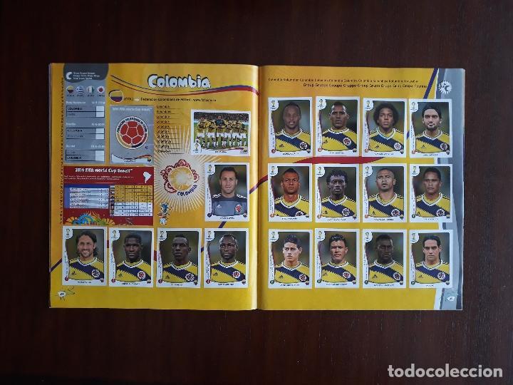 Sammelleidenschaft Sport: Album de Cromos Panini Mundial 2014 Brasil Bastante Completo con 517 cromos - Foto 12 - 147714606
