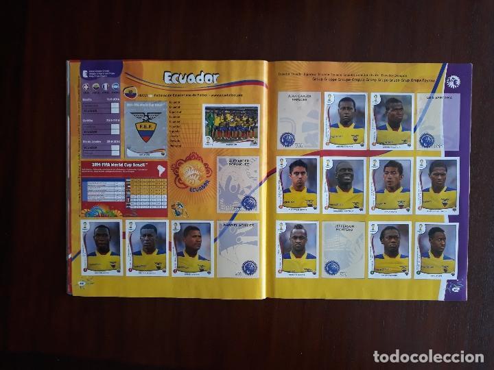 Sammelleidenschaft Sport: Album de Cromos Panini Mundial 2014 Brasil Bastante Completo con 517 cromos - Foto 21 - 147714606