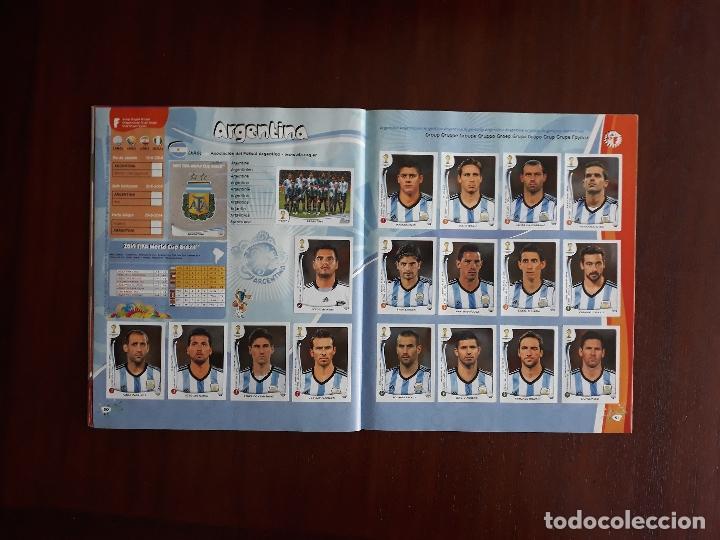 Sammelleidenschaft Sport: Album de Cromos Panini Mundial 2014 Brasil Bastante Completo con 517 cromos - Foto 24 - 147714606