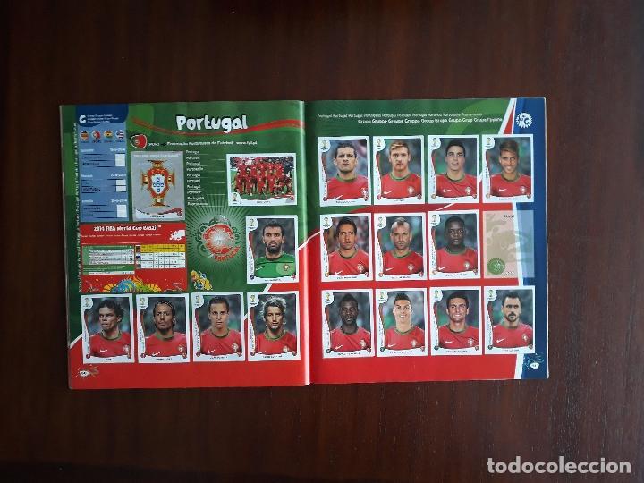 Sammelleidenschaft Sport: Album de Cromos Panini Mundial 2014 Brasil Bastante Completo con 517 cromos - Foto 29 - 147714606