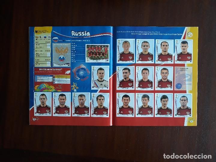 Sammelleidenschaft Sport: Album de Cromos Panini Mundial 2014 Brasil Bastante Completo con 517 cromos - Foto 34 - 147714606