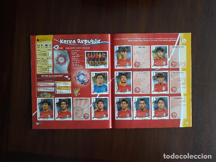Sammelleidenschaft Sport: Album de Cromos Panini Mundial 2014 Brasil Bastante Completo con 517 cromos - Foto 35 - 147714606