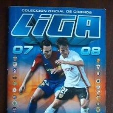 Coleccionismo deportivo: ALBUM DE CROMOS LIGA FUTBOL ESTE 2007/2008 07/08 CASI COMPLETO. Lote 147715294