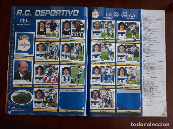 Sammelleidenschaft Sport: Album de Cromos Liga Futbol Este 2007/2008 07/08 Casi Completo - Foto 7 - 147715294