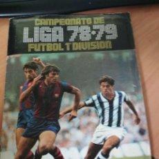 Coleccionismo deportivo: ALBUM ESTE 78/79 EXCEPCIONAL ESTADO. Lote 147781118