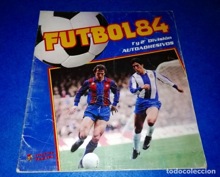 ALBUM SIN USAR FUTBOL 84 PANINI --- PEDIDO MÍNIMO 10€ --- BOX20 (Coleccionismo Deportivo - Álbumes y Cromos de Deportes - Álbumes de Fútbol Incompletos)