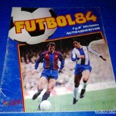 Coleccionismo deportivo: ALBUM SIN USAR FUTBOL 84 PANINI --- PEDIDO MÍNIMO 10€ --- BOX20. Lote 147785786