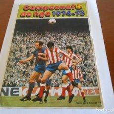 Coleccionismo deportivo: ALBUM 1974 75 FHER DISGRA CASI COMPLETO EN MUY BUEN ESTADO. Lote 147825622