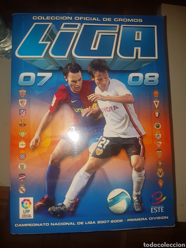 LIGA 2007 2008 - EDIC ESTE - FALTAN 136 CROMOS (Coleccionismo Deportivo - Álbumes y Cromos de Deportes - Álbumes de Fútbol Incompletos)