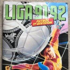 Coleccionismo deportivo: ÁLBUM LIGA 91 - 92 (1991 - 1992) FÚTBOL 1ª DIVISIÓN - EDICIONES ESTE. Lote 147981810