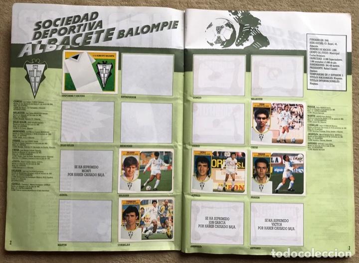 Coleccionismo deportivo: Álbum liga 91 - 92 (1991 - 1992) Fútbol 1ª División - Ediciones Este - Foto 3 - 147981810