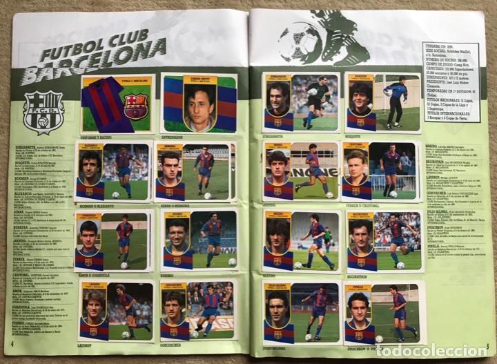 Coleccionismo deportivo: Álbum liga 91 - 92 (1991 - 1992) Fútbol 1ª División - Ediciones Este - Foto 4 - 147981810